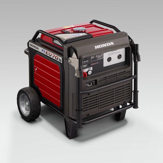 Генератор Honda EU70iS в Ардоне